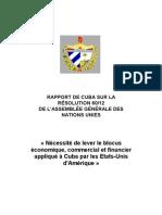 Cuba.embargo - Francais