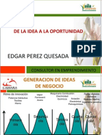 De La Idea a La Oportunidad