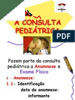 A CONSULTA PEDIÁTRICA