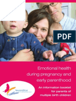 Emotional Health During Pregnancy and Early Parenthood (Muliple Births)