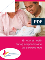 Emotional Health During Pregnancy and Early Parenthood
