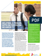 Youth - Helping a Friend With Depression or Anxiety