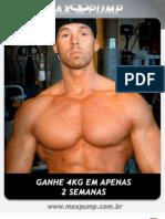 Revista Max Pump - Ganhe 4Kg Em 2 Semanas