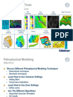 M16 Petrophysical Modeling 2007