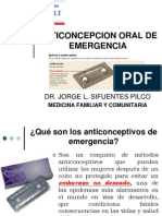Anticoncepcion Oral de cia