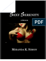 Sexy Serenity, a memoir by Miranda K. Simon