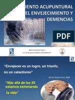 Tratamientode Acupuntura de El Envejecimiento y Demencias