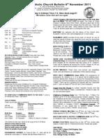 Bulletin 061111