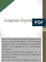 Lenguaje Expositivo