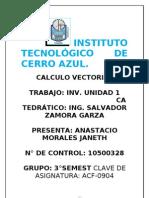 Calculo Vectorial.unidad1 Algebra de Vectores