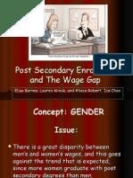Presentation Wage Gap L