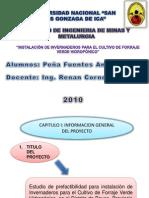 proyectos mineros II