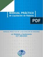 Manual Practico de Liquidacion de Haberes FEHGRA