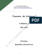 """Volumen 5 de """"Cuentos de Gotiasan"""""""