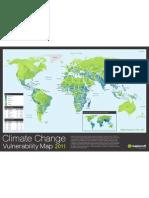 Maplecroft Climate Change CCVI Map 2011