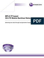 Mplstp Based Mobile Backhaul Networks 572