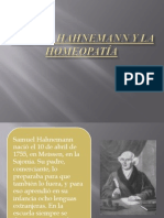 SAMUEL HAHNEMANN Y LA HOMEOPATÍA