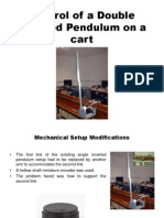 Control of a Double Inverted Pendulum on a