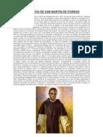 Biografia de San Martin de Porras