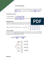 Teoria de La Prbabilidad Total y Bayes a