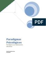 Paradigmas Psicológicas en Educación