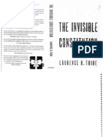 LAURENCE TRIBE - The Invisible Constitution 1