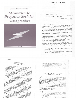 Perez Serrano Elaboracion Proyectos Sociales Casos Practicos Negocios