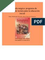 La mochila mágica_ programa de promoción de lectura para la educación Inicial. Acción Pedagógica