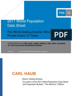 2011 World Population Data Sheet Presentation