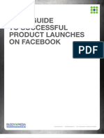 Your Guide to Successful Product Launches on Facebook - 2011 Buddy Media