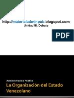 Organización Estado Venezolano