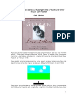 Surat Kahlil Gibran Dan Mary Haskell1