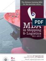 LP0079 - MBA in Shipping & Logistics (TT02)