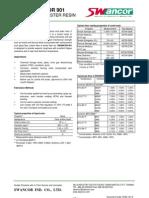 Swancor 901 Data Sheet