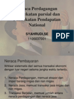 Bab 10 Neraca Perdagangan Pendekatan Parsial Dan Pendekatan an National