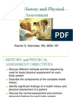Health History and Phys Exam SP 07 Web Version