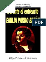 Pardo Bazan, Emilia - Durante El Entreacto