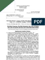 Judge Floro's 4 pages, April 1, 2011 Supplemental Omnibus Motions – Part 1