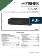 FISHER CA-520