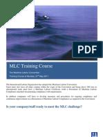 Maritime Labour Convention Course