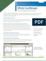 QRadar Log Manager Data Sheet