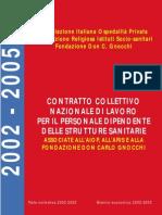 CCNL AIOP Non Medici 2005