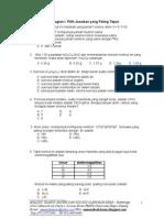 Soal OSN-Kimia Tanah Datar 2011(Kls X)