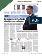 Avvenire - Obama, la speranza non basta più, di Paolo M. Alfieri, 06/11/11