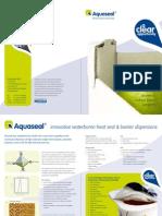 Aquaseal Product Brochure [en]