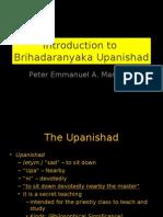 Brihadaranyaka Upanishad