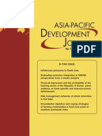 Asian Pacific Development Joural