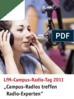 Programm LfM Campus Radio Tag 20112011_Web