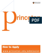 How to Apply Princeton