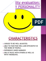 Healthy Personality Hr